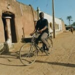 Salifou enjoys bicycle ride in Bauchi, Nigeria