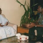 Fellow brainstormer Oumar Diaw