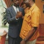 With African music legend Manu Dibango