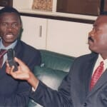 With EBID President Christian Adovelande