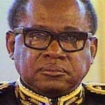 The late president of Zaire (now Dem. Rep. of Congo) Mobutu Sese Seko