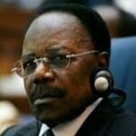 The late president of Gabon, El-hadj Omar Bongo