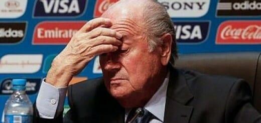 FIFA Presdient, Joseph Blatter