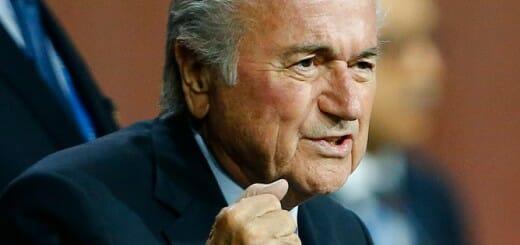 FIFA President Sepp Blatteer