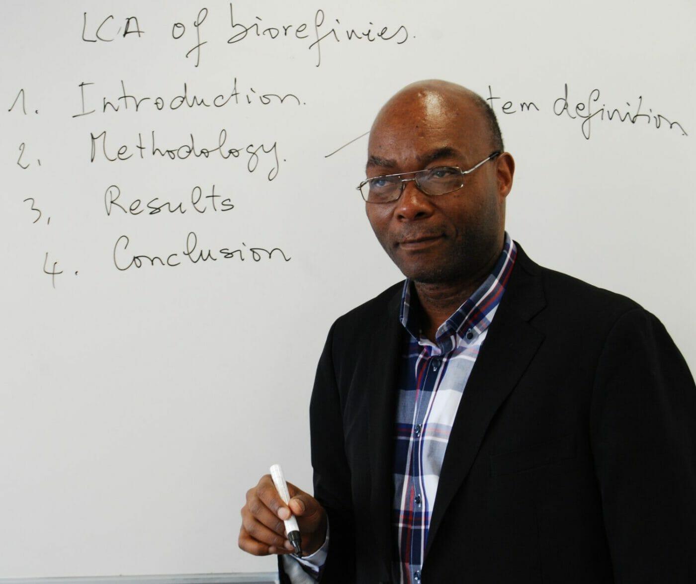 EPFL Professor Edgard Gnansounou