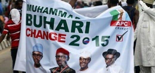 Buhari campaign banner