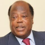 Former Ivorian prime minister Charles Konnan