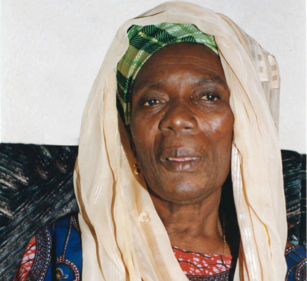 Hadeejah Salifou in 1997, at age 76. Image by Framck Johnson.