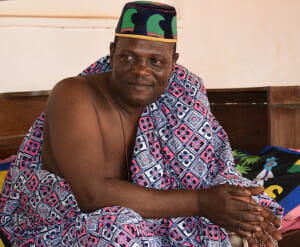 His Majesty Dada Aïhotogbé Langanfin Glèlè