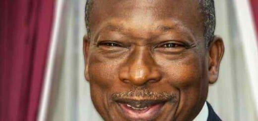 Benin's president Patrica Talon