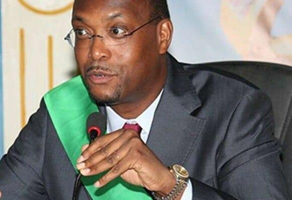 Embattled Cotonou mayor Lehady Soglo