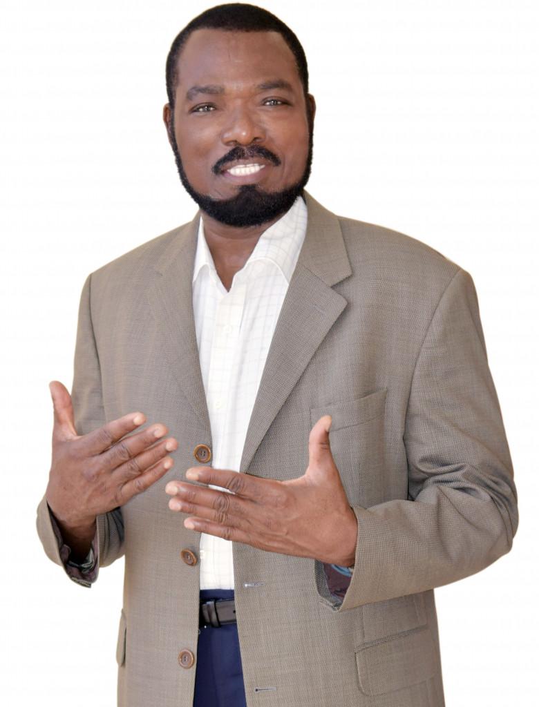 "Soumanou Salifou, founder/publisher of ""The African"" magazine"