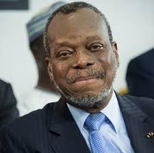 Former Benin's Constitutional Court president Robert Dossou