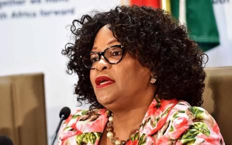 South Africa's Communications Minister Nomvula Mokonyane
