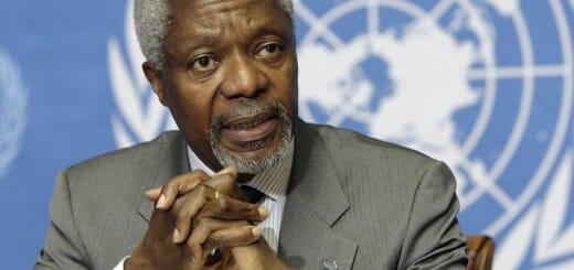 Former U.N. Secretary-General Kofi Annan