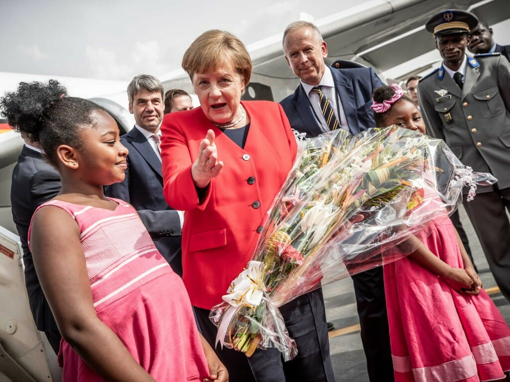 Chancellor Angela Merkel in Africa