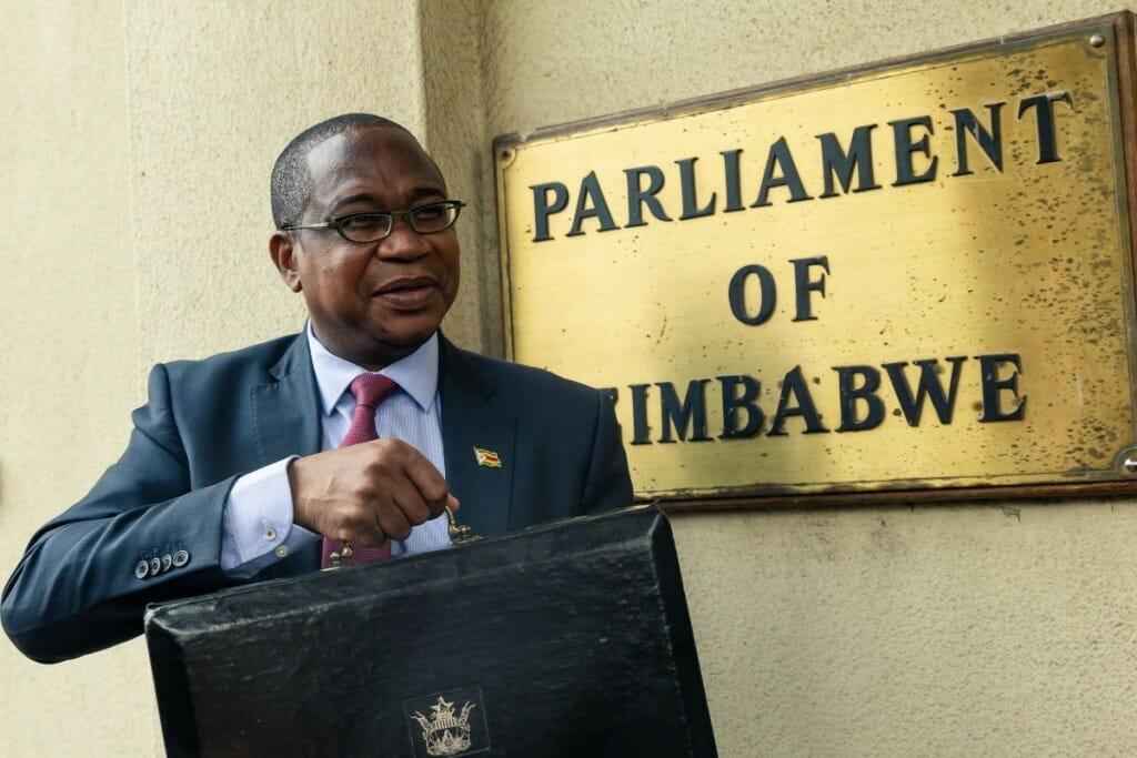 Zimbabwe's finance minister Mthuli Ncube